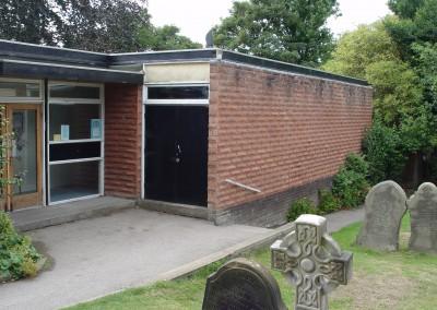 St Bridget's Centre West Kirby - 1960s build